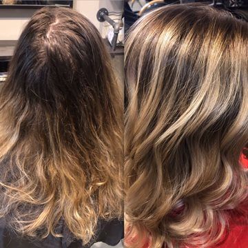 The Art of Balayage at Images Salon